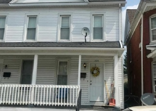 Pre Foreclosure in Hanover 17331 2ND AVE - Property ID: 1566959436