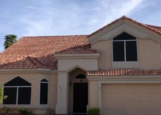 Pre Foreclosure in Gilbert 85233 W WAGNER CT - Property ID: 1568360514