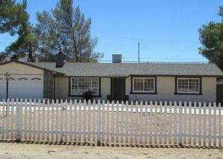 Pre Foreclosure in Apple Valley 92308 DEL ORO RD - Property ID: 1569620572