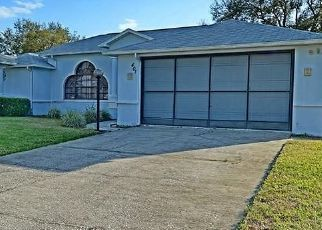 Pre Foreclosure in Lecanto 34461 N TURKEY PINE LOOP - Property ID: 1571625167
