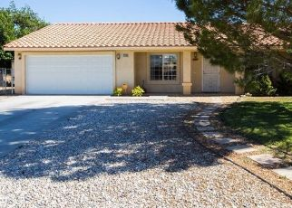 Pre Foreclosure in Victorville 92392 COALINGA RD - Property ID: 1572027228