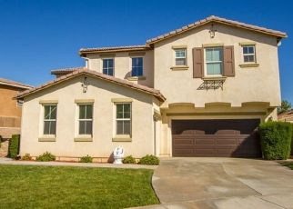 Pre Foreclosure in Hemet 92545 TANSY CT - Property ID: 1572124913