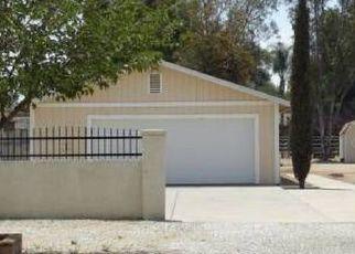 Pre Foreclosure in Sun City 92585 CITATION AVE - Property ID: 1572253670