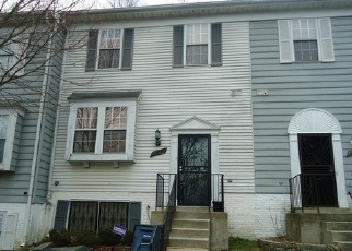 Pre Foreclosure in Capitol Heights 20743 MORNINGTON PL - Property ID: 1574306899