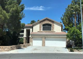 Pre Foreclosure in Henderson 89074 COOPER CREEK DR - Property ID: 1575406651