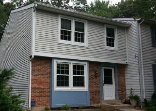 Pre Foreclosure in Gaithersburg 20879 TURTLE DOVE CT - Property ID: 1575494230