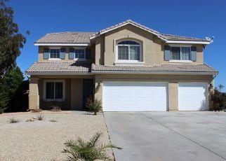 Pre Foreclosure in Hesperia 92345 MONO DR - Property ID: 1575525332