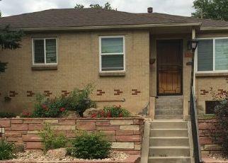 Pre Foreclosure in Denver 80210 S CORONA ST - Property ID: 1577998574