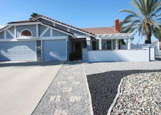 Pre Foreclosure in Wildomar 92595 HUNTERS RUN CT - Property ID: 1592482368