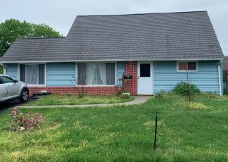 Pre Foreclosure in Levittown 19056 PEONY RD - Property ID: 1592743405