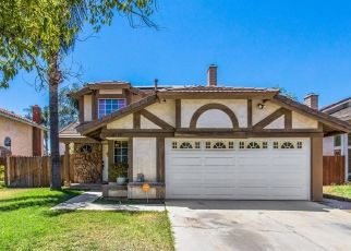 Pre Foreclosure in Moreno Valley 92551 HAZELWOOD CT - Property ID: 1594739697