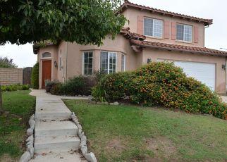 Pre Foreclosure in Santa Maria 93458 PINNACLE DR - Property ID: 1594789622