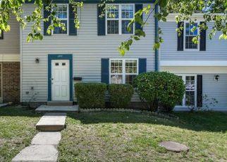 Pre Foreclosure in Waldorf 20602 ROBINSON PL - Property ID: 1595244681