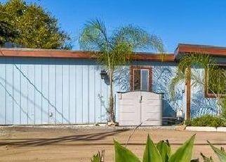 Pre Foreclosure in Vista 92084 ALTA VISTA DR - Property ID: 1595932736