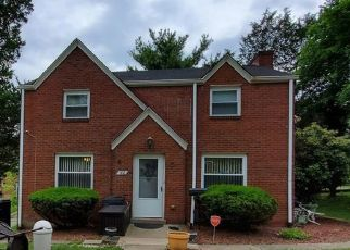 Pre Foreclosure in Pittsburgh 15221 PADEN ST - Property ID: 1597705659