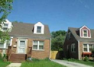 Pre Foreclosure in Chicago Heights 60411 PEORIA ST - Property ID: 1599161474
