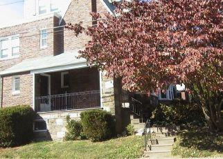 Pre Foreclosure in Lansdowne 19050 W COBBS CREEK PKWY - Property ID: 1600701391