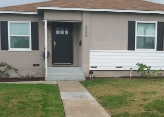 Pre Foreclosure in La Habra 90631 ALPINE ST - Property ID: 1601327704