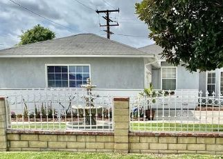 Pre Foreclosure in Whittier 90604 VALLEY VIEW AVE - Property ID: 1602116938