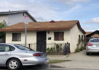 Pre Foreclosure in Bell 90201 EMIL AVE - Property ID: 1602149334