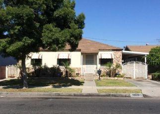 Pre Foreclosure in Norwalk 90650 DEVLIN AVE - Property ID: 1602303502