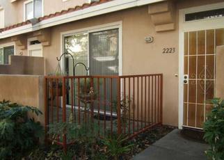 Pre Foreclosure in Chula Vista 91914 CABO BAHIA - Property ID: 1604730761