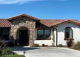Pre Foreclosure in Nipomo 93444 VISTA DEL SOL - Property ID: 1604762732