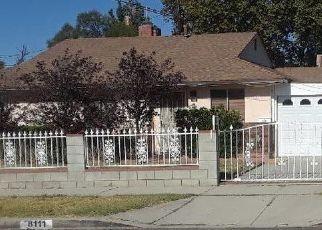 Pre Foreclosure in Northridge 91325 ANDASOL AVE - Property ID: 1605664513