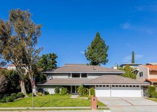 Pre Foreclosure in Northridge 91326 PRESTON TRAILS AVE - Property ID: 1607183857