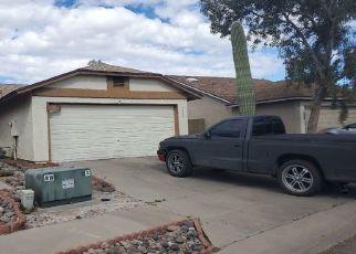 Pre Foreclosure in Tucson 85746 S CALLE DE LA TINTA - Property ID: 1609961477
