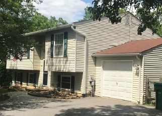 Pre Foreclosure in Damascus 20872 BLOOM CT - Property ID: 1611858791