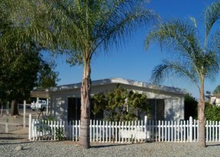Pre Foreclosure in Wildomar 92595 HARVEST WAY - Property ID: 1627116927