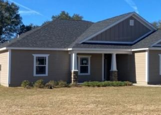 Pre Foreclosure in Crawfordville 32327 TILLIS LN - Property ID: 1628797420