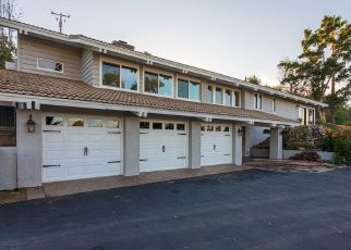 Pre Foreclosure in Fallbrook 92028 WILT RD - Property ID: 1632553489