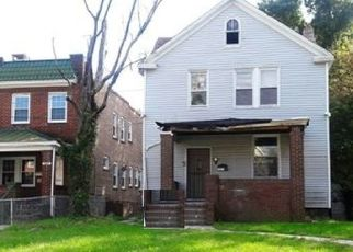 Pre Foreclosure in Baltimore 21229 OLD FREDERICK RD - Property ID: 1632739185