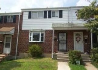 Pre Foreclosure in Baltimore 21229 QUEENSGATE RD - Property ID: 1632743128