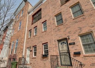 Pre Foreclosure in Baltimore 21217 N CAREY ST - Property ID: 1632763725