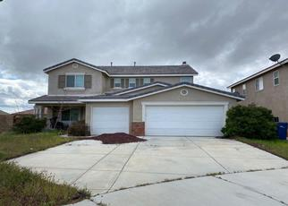 Pre Foreclosure in Lancaster 93535 RUCKER ST - Property ID: 1634292239