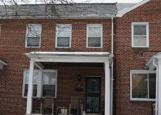 Pre Foreclosure in Baltimore 21215 COLUMBUS DR - Property ID: 1636755410