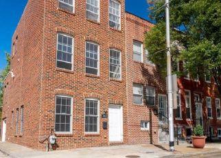 Pre Foreclosure in Baltimore 21230 WASHINGTON BLVD - Property ID: 1636795260