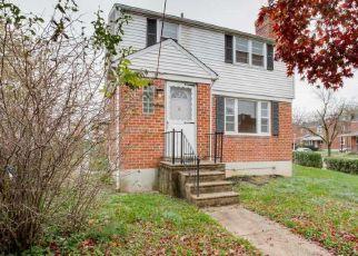 Pre Foreclosure in Baltimore 21206 RASPE AVE - Property ID: 1636851323