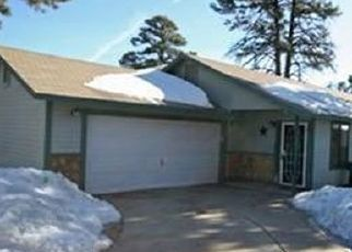 Pre Foreclosure in Flagstaff 86004 N CHRISTMAS TREE LN - Property ID: 1637246824