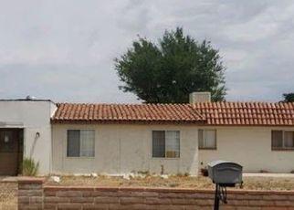 Pre Foreclosure in Pearce 85625 E TREASURE RD - Property ID: 1637765826