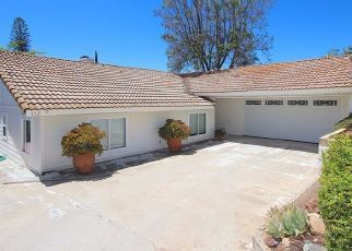 Pre Foreclosure in Fallbrook 92028 WAGON TRL - Property ID: 1637829768