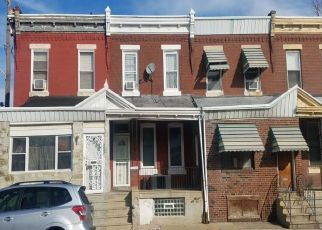 Pre Foreclosure in Philadelphia 19139 RACE ST - Property ID: 1638880459
