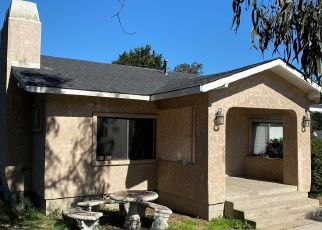 Pre Foreclosure in Arroyo Grande 93420 OLIVERA AVE - Property ID: 1640366961