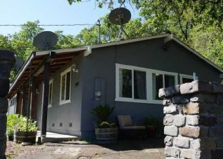 Pre Foreclosure in Healdsburg 95448 CHALK HILL RD - Property ID: 1640382268