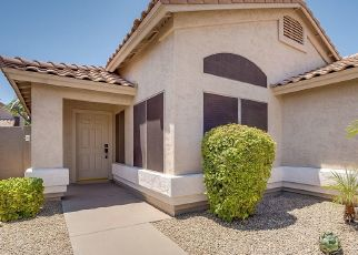 Pre Foreclosure in Chandler 85286 S COMANCHE DR - Property ID: 1642639595