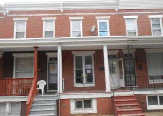 Pre Foreclosure in Baltimore 21211 W LORRAINE AVE - Property ID: 1642817855