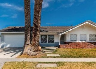 Pre Foreclosure in Anaheim 92806 N CHANTILLY ST - Property ID: 1644567104